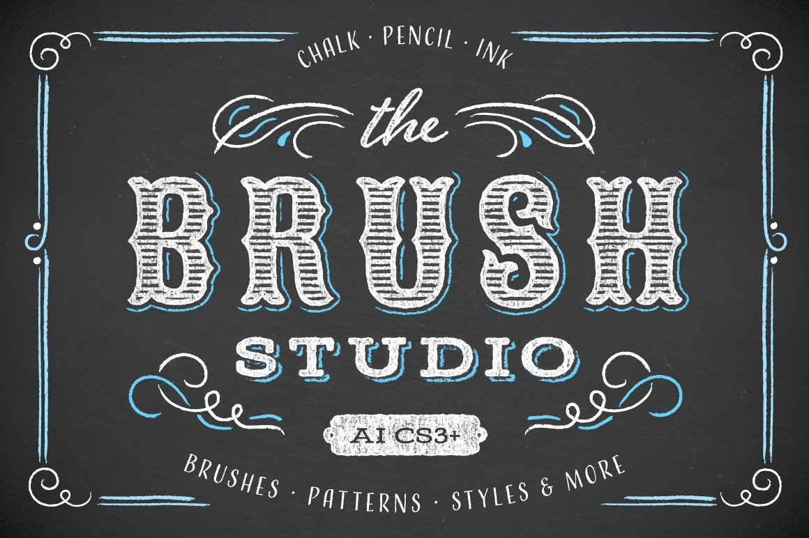 15 of the Best Pen & Pencil Brushes for Adobe Illustrator - display cover