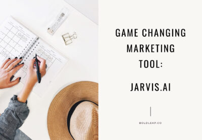A Game Changing Content Creation Tool You Can't Live Without: Jarvis.ai
